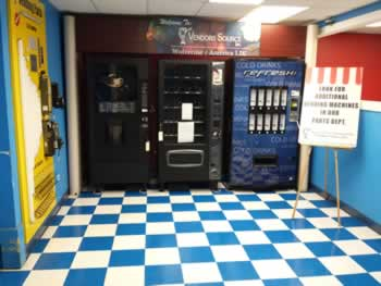 Vendors Source, Inc. Parts and Service for Vending Machines