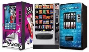 Beverage Food and Snack Vending Machines