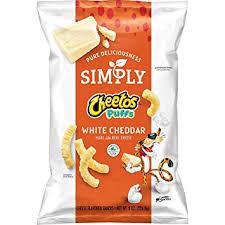white cheddar cheetos